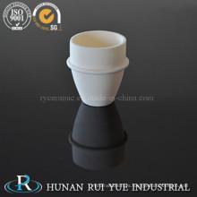 Crisol de cerámica de alúmina pura resistente al desgaste