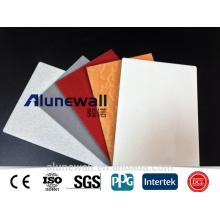 feuille d'acp de panneau composite en aluminium de taille de 5mm / acp de panneau composite extérieur en aluminium