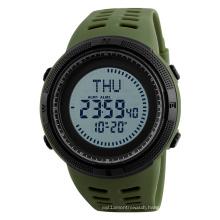 SKMEI 1254 Mens Military Digital Sport Watch Waterproof Stopwatch with Compass