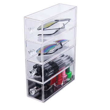 OEM Clear acryl case diverse organisator container lade