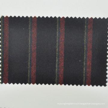 Tissu de laine peignée pour ligur caden