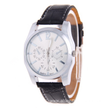 Hot sale Silver Luxuruy Leather Watches