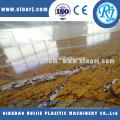 Каменные пластик ПВХ профили линии машина экструдер для фальшивый мрамор