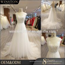 Высокого класса фабрики Китая прямые оптовые свадебное платье роскошные