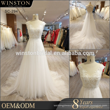 High end china factory direct wholesale wedding dress luxury