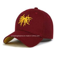Boné de beisebol feito sob encomenda de alta qualidade do logotipo do bordado