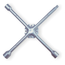 Cross Rim Wrench Silver Powder Coated