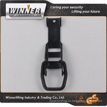 50mm negro electroforética de la pintura de la hebilla del cinturón de los fabricantes