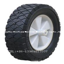 Rubbish Cart Solid Rubber Wheel