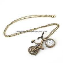 Fashion Necklace Pendant Watch for Woman Lady