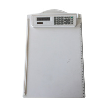 Clip Board with Electronic Calculato with ruler