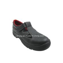 Sandale Style Split cuir chaussures de sécurité (HQ05029)