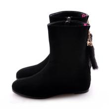 Flache Frauen Stiefel (Hcy02-917)