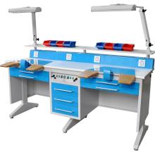 Hochwertige zahnärztliche Workstation (Doppel)