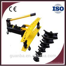 HHW-2 2 pulgadas máquina de plegado portátil hidráulica manual para tubos de acero con CE
