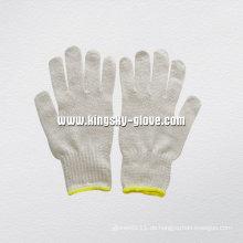 7g String stricken natürliche Farbe Baumwolle Arbeitshandschuh-2402