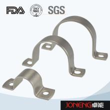 Нержавеющая сталь Гигиенические U-образные трубные фитинги Держатель труб (JN-FL2005)