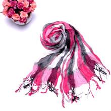 2014 Custom Design Multicoloridos Longo Wrinkle manta lenços