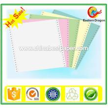 Nicht-kohlefreies Papier Blaues NCR-Papier