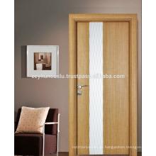 Saw Blade Structured Laminate Neue Design Interior Tür mit weiß lackiert dekorative gewellte Panel