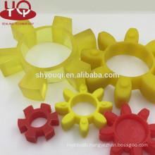 China Factory Rubber PU plum blossom pad coupling rubber cushion Plum mat Hytrel Gasket