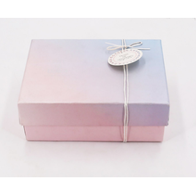 Kundenspezifische Ribbon Folding Paper Gift Box