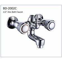 Bd2002c Zinc Double Knobs Bathtub Faucet