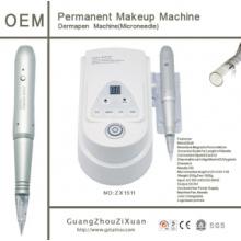 Machine de maquillage permanente numérique Goochie à la nouvelle arrivée 2015 avec machine à tatouer le contrôleur de pied