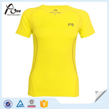 Ladies Short Sleeve Running T-Shirt Gym Clothes