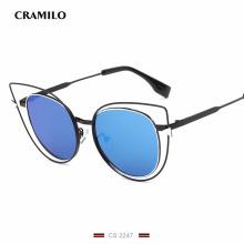 CS2247 High Quality Cat Sunglasses Hollow Frame Sexy Vintage women Luxury sunglass