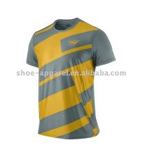 hommes t-shirt imprimé col rond