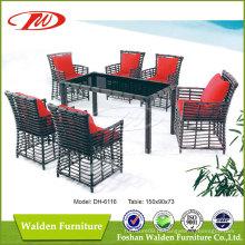 Móveis ao ar livre, mesa ao ar livre, cadeira de exterior (DH-6116)
