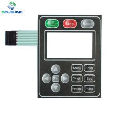 машина для трафаретной печати Прозрачный мембранный переключатель окна