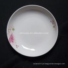 Placa da fruta de 8 polegadas, placa de jantar, placa profunda cermica