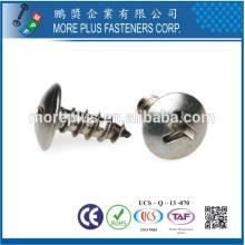Taiwán Acero inoxidable M3X10 hilo que forma el tornillo de la seguridad del Tri-Ala para la seguridad