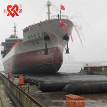 airbag do navio marinho usado para o lançamento ou aterragem do navio