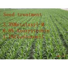 Tratamiento de Semillas Fungicida, Metalaxil-M & Azoxystrobin & Fludioxonil