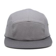 color gris claro simple color promocional personalizado nuevo diseño borde plano 5 panel camp cap