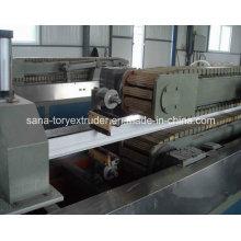Plastic Extruder Machine UPVC Profile Extrusion Production Line