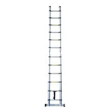 Escaleras de aluminio de 2.5 + 2.5 m Escalera de tijera plegable telescópica multiusos de extensión