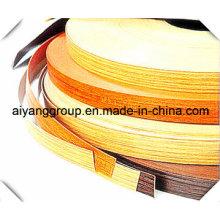 PVC en forma de U Perfil de plástico / tipo C Borde de moldeo Lipping Banding