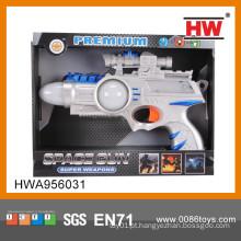 Novo 43CM plástico Electric Kid Toy Gun arma elétrica