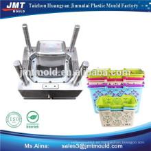 molde de la cesta de lavado de inyección de plástico