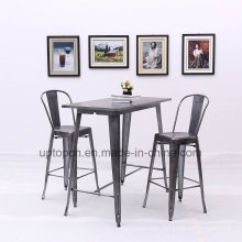 Chinese Factory Durable Metal Reataurant Bar Table (SP-BT710)