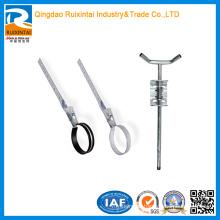 Aço inoxidável-alumínio-metal-Adjustable-Pipe-Bracket