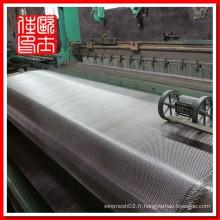 Écran en acier inoxydable 316 en acier inoxydable de 100 microns et tampon filtrant de 1000 microns