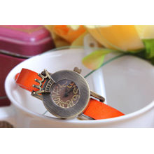 Moda couro pulseiras relógio atacado de China Yiwu assistir mercado