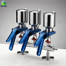 3-branch Stainless Steel Solvent Filter Manifold Vacuum Filtration Laboratory Vacuum Solvent Filter Filtration Apparatus