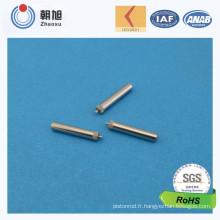 Pin en métal d'acier inoxydable d'usine d'ISO pour des pièces de moto