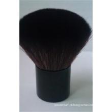 Alta Qualidade Private Label Cabra Cabelos Kabuki Face Escova